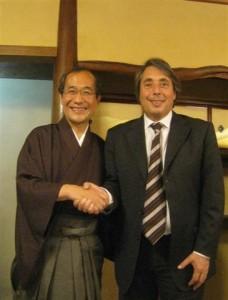 Rencontre avec Daisaku Kadokawa maire de Kyoto