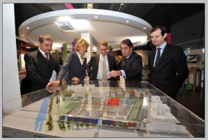 Inauguration paris du salon de l 39 immobilier d 39 entreprise for Salon immobilier entreprise