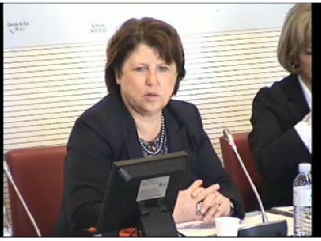 CAE : Audition Martine Aubry, représentante spéciale pour la diplomatie économique avec la Chine