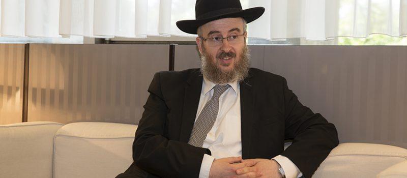Rencontre avec Arié Tolédano, Rabbin de Grenoble