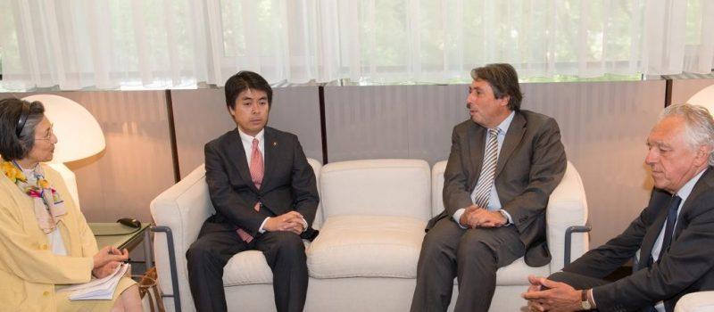 Rencontre avec le Maire de Toyota