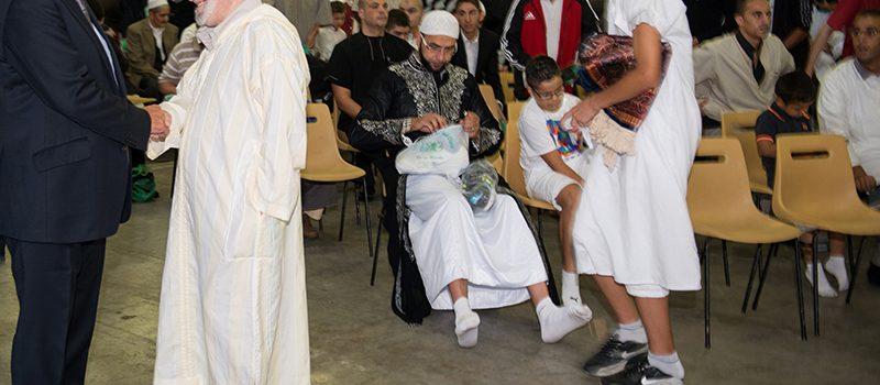 La communauté musulmane fête l'Aïd à Alpexpo