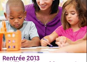 Affiche de recrutement de la Ville dans le cadre de la réforme des rythmes scolaires