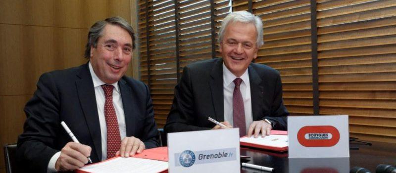 Signature d'un partenariat avec Bouygues Construction pour des logements 100 % autonomes