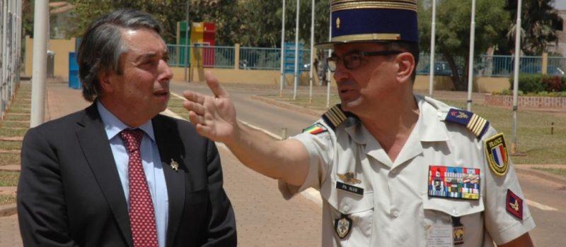 Avec les militaires français au Nord Mali