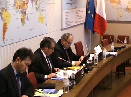 Intervention devant la Commission des Affaires Etrangères