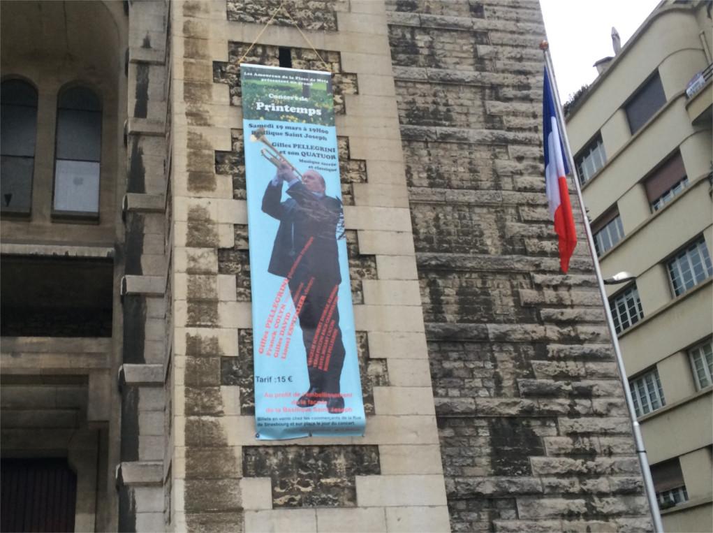 L'affiche du concertqui aura lieu le 19 mars à 19h00