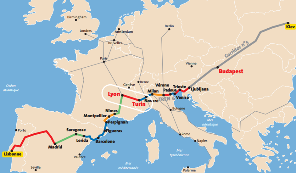 La liaison Lyon-Turin au cœur du réseau européen (DR La Transalpine)