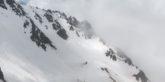 Col de Mine de fer. Entre 2100 et 2400m j'ai du faire la trace dans la neige.