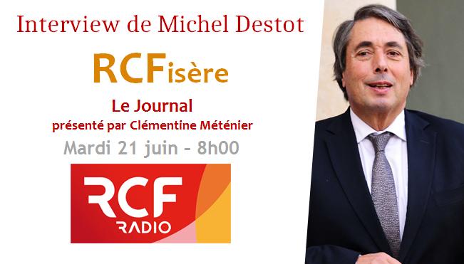 Interview sur RCF Isère – La saisine de la CRC et la situation financière alarmante de la Ville