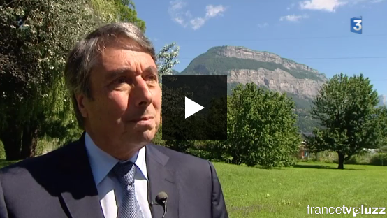 Mon interview sur France 3 suite à la disparition de Michel Rocard