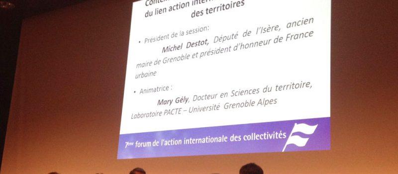 Conférence France Urbaine – CUF : Attractivité des territoires et action extérieure des collectivités