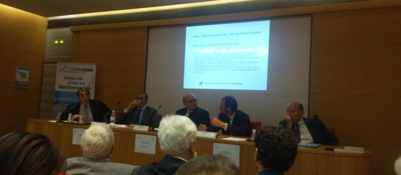 Colloque Transalpine Lyon-Turin «L'avenir du fret ferroviaire»