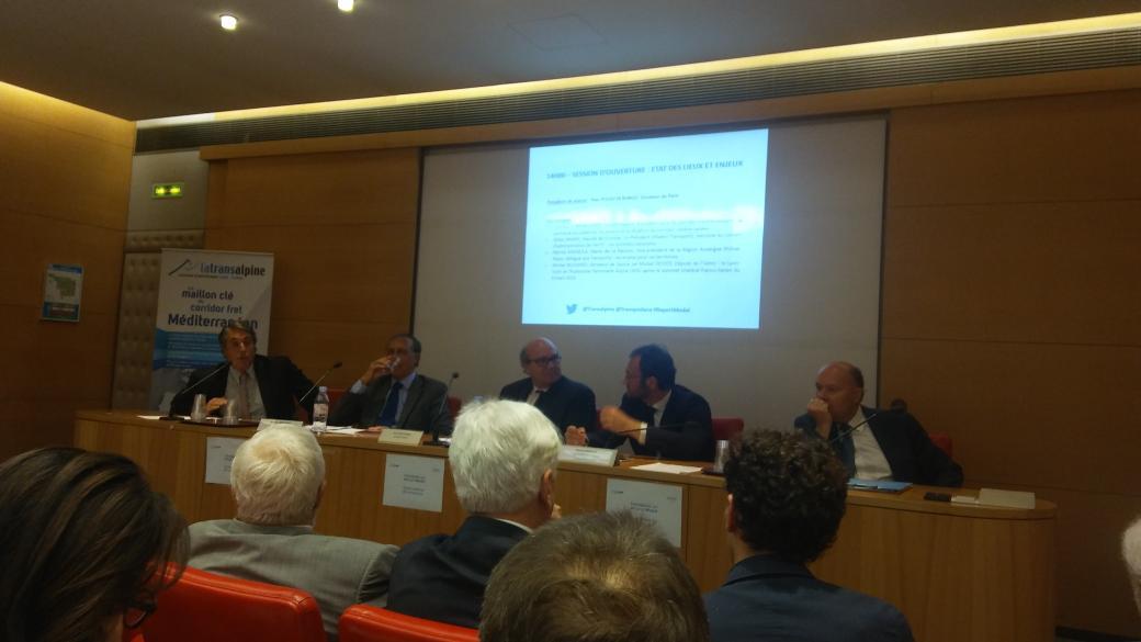 J'ai été invité à participer au colloque sur le Lyon-Turin qui se tenait le 27 juin au Palais du Luxembourg