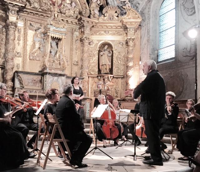 Un concert magique au sein de la Chapelle Sainte-Marie d'en-Haut