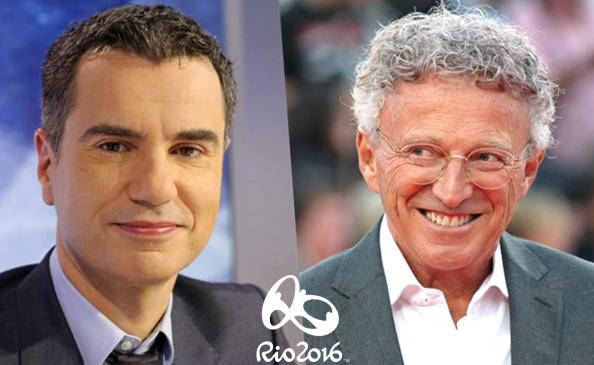 JO 2016 : la simplicité et l'enthousiasme de Laurent Luyat et de Nelson Monfort