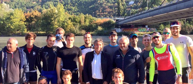 L'aviron grenoblois, un entrainement quotidien en vue des Championnats de France