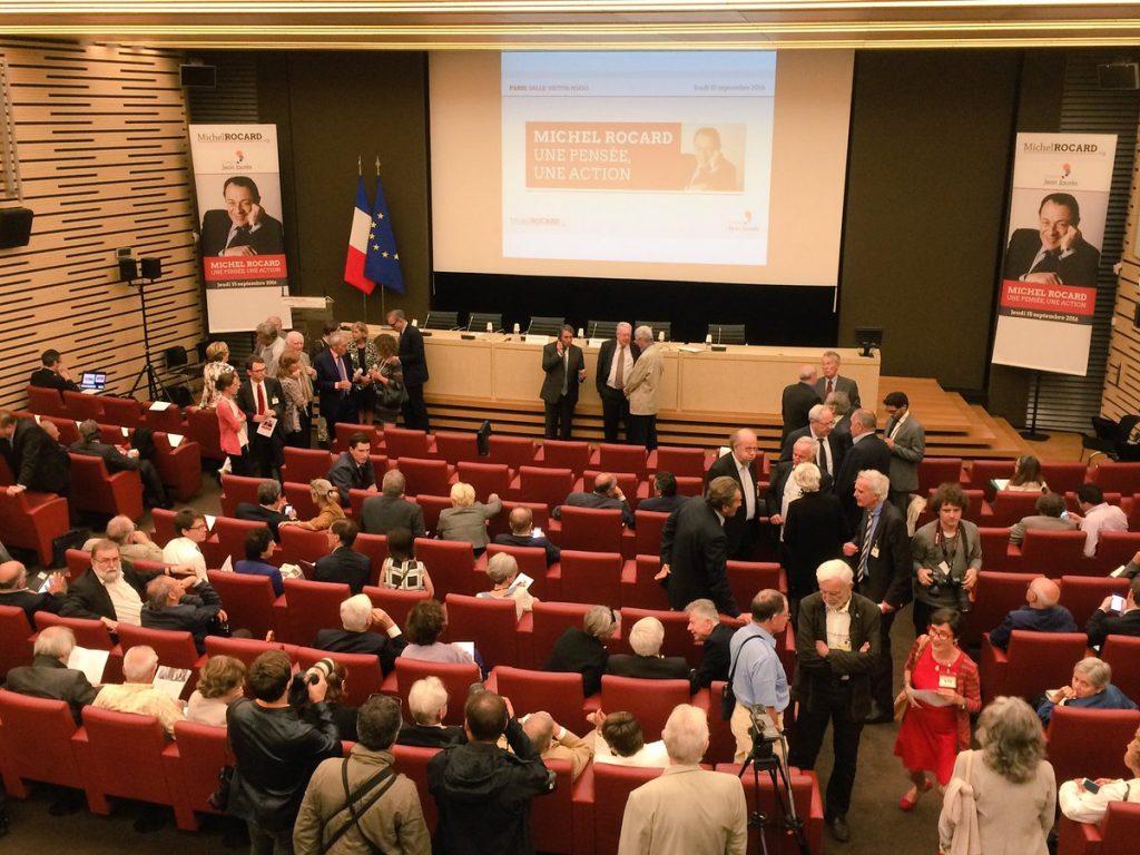 Avec plus de 600 inscrits, la salle était très vite comble.