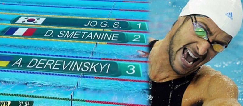 Le nageur grenoblois David Smétanine médaillé d'argent à Rio !