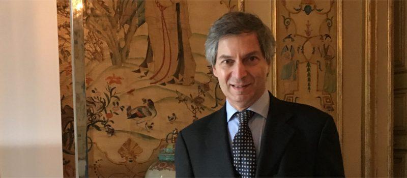 Petit déjeuner avec Giandomenico Magliano, ambassadeur d'Italie en France