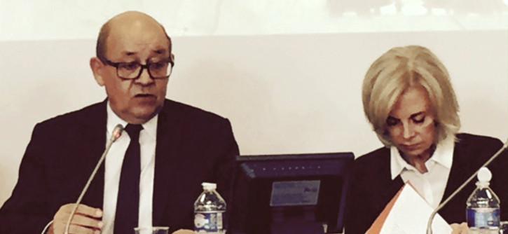 Audition de Jean-Yves Le Drian en Commission des Affaires étrangères