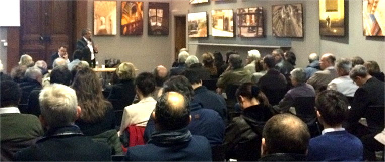Rencontre du club « Initiatives à Grenoble » autour de Gilles Clavreul