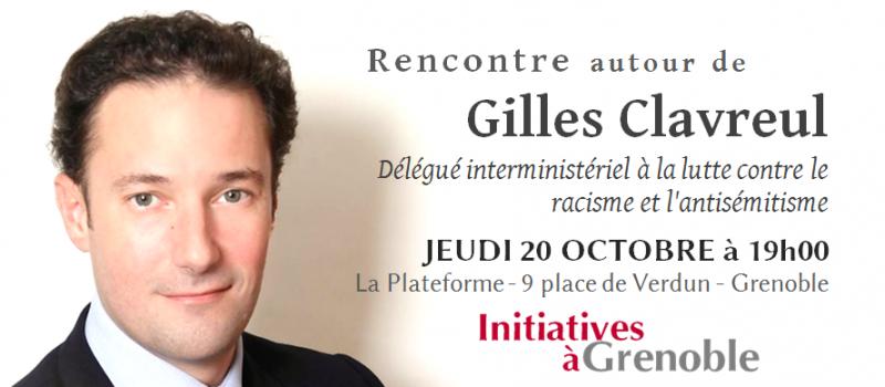 Initiatives à Grenoble : Rencontre avec Gilles Clavreul