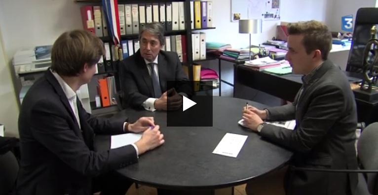 Reportage France 3 Alpes sur le travail d'attaché parlementaire
