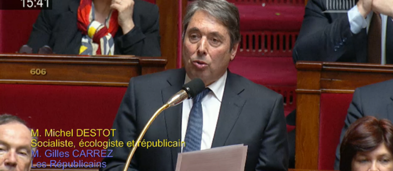 Question au Gouvernement : l'accord France-Italie sur la ligne ferroviaire Lyon-Turin