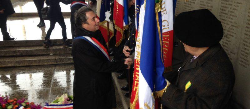 Commémoration du 101ème anniversaire de la Bataille de Verdun