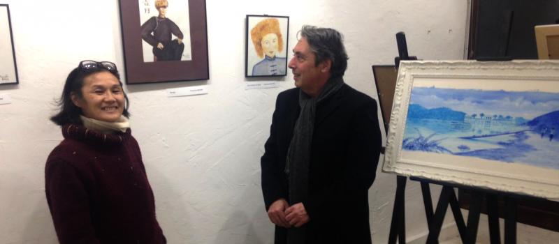 Visite de plusieurs expositions et ateliers d'artistes de l'agglomération grenobloise