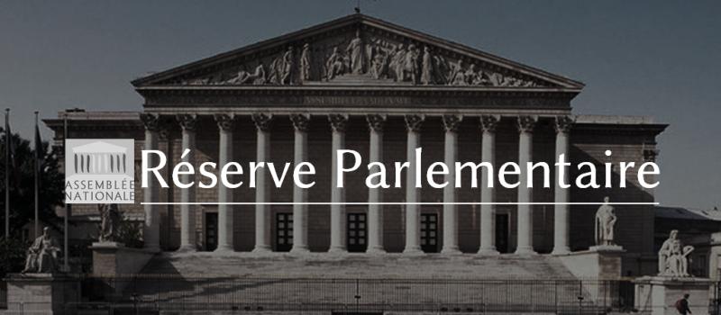 En toute transparence : l'utilisation de ma réserve parlementaire pour l'année 2016