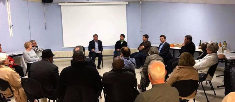 Réunion Villeneuve-Malherbe : de l'échange avec les militants aux solutions pour demain