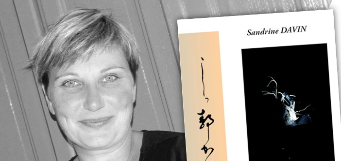 Sandrine Davin, la passion de l'écriture
