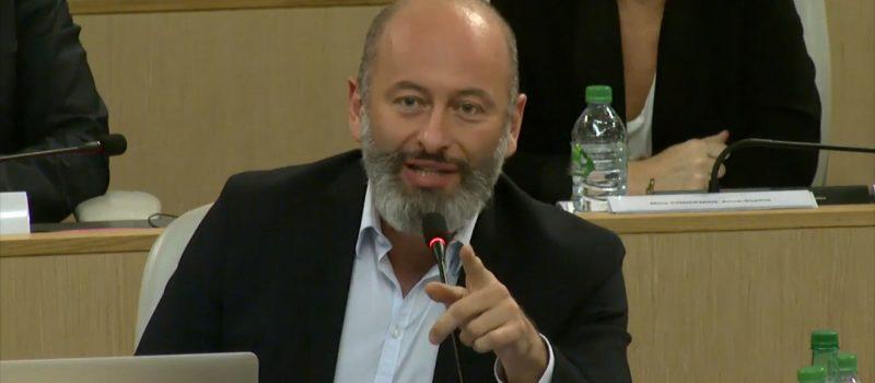 Stéphane Gemmani reçoit les insignes de l'Ordre National du Mérite