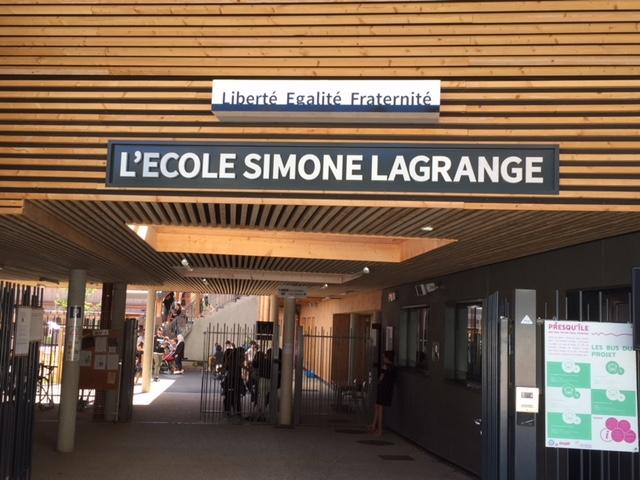 L'école Simone-Lagrange est née !