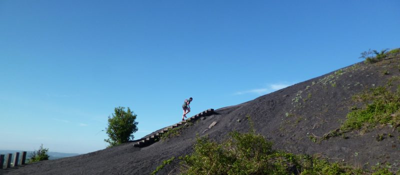 Trail des pyramides noires