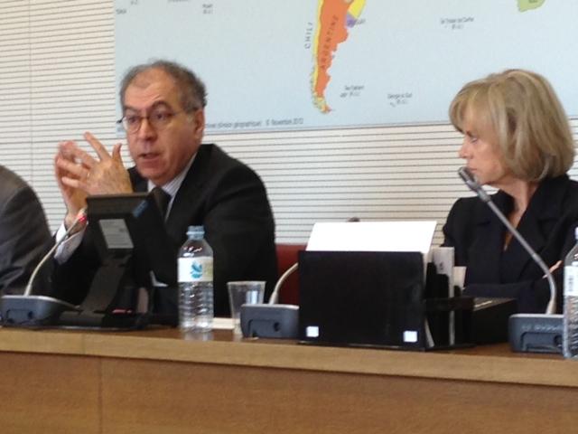 Audition par la Commission des Affaires étrangères de Pierre Sellal, Secrétaire général du Quai d'Orsay