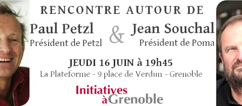 Ce jeudi 16 juin : Rencontre avec Paul Petzl et Jean Souchal
