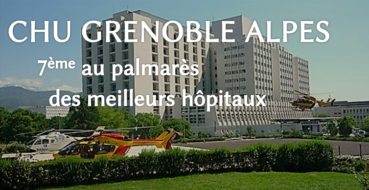Le CHU de Grenoble parmi les meilleurs hôpitaux de France