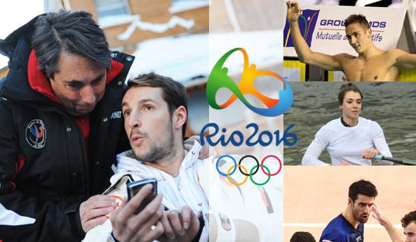 Ouverture des Jeux de Rio 2016 : David Smétanine dans la course