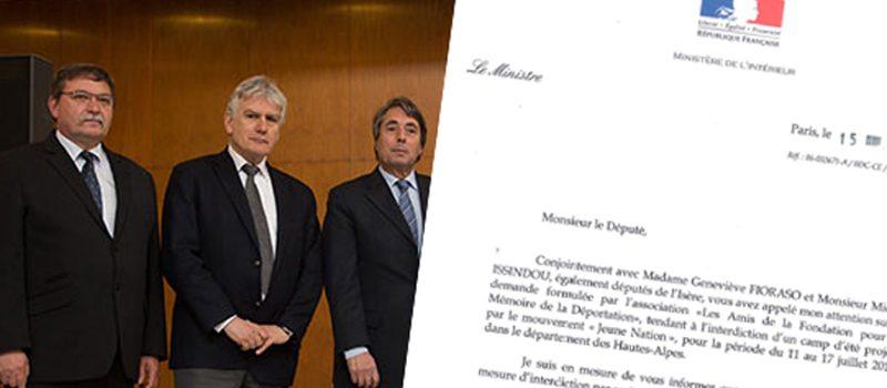 Cette dernière bataille menée avec Michel Rahon : ne laisser aucune trêve à la haine de l'autre