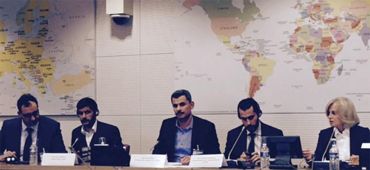 Une délégation de la ville d'Alep en Commission des Affaires étrangères