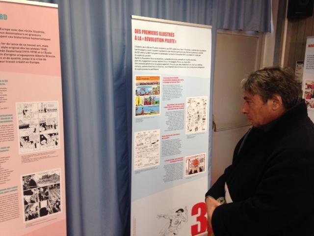 Visites d'expositions dans les bibliothèques de Grenoble