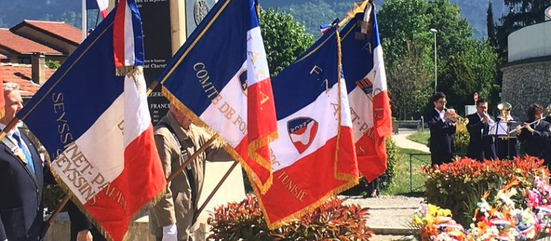 Rive gauche : commémoration du souvenir des victimes et héros de la Déportation et du 72ème anniversaire de la Libération des camps