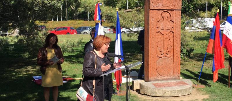 Commémoration du 102ème anniversaire du Génocide des Arméniens