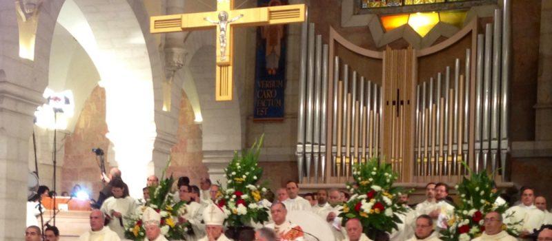 Cérémonie de Noël 2013 à Bethléem