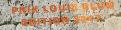 Prix Louis Blum au Mémorial de la Shoah