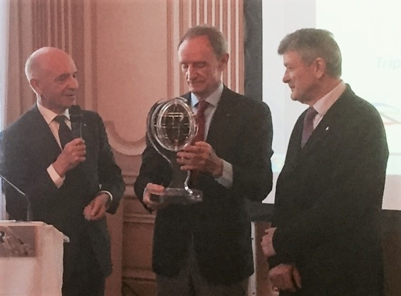 Jean-Claude KILLY, Edgar GROSPIRON et David SMETANINE honorés par le Panathlon international