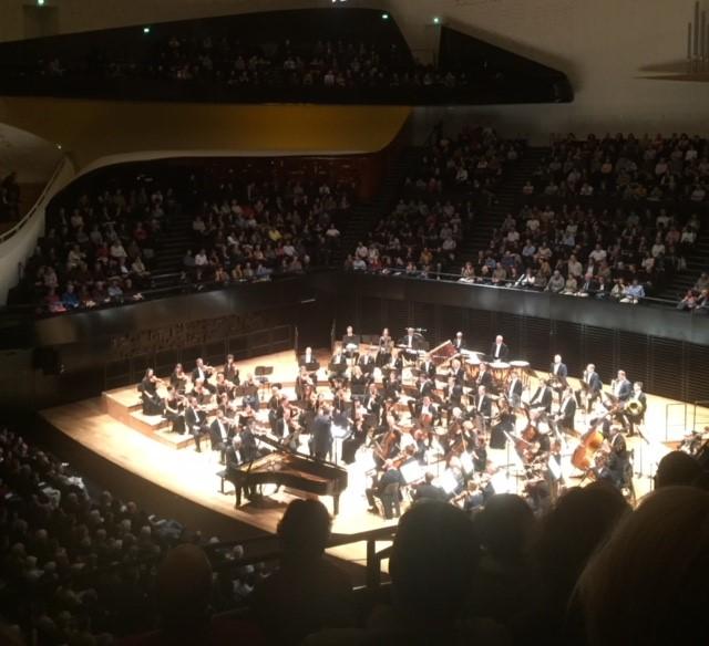 La Philharmonie de Paris à l'heure lettone